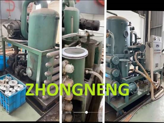 ZYD Double High Vacuum Transformer Oil Purifier Work for Ten Years
