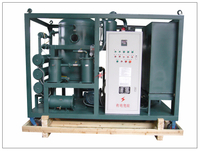 ZYD-I-PLC PLC Full Automatic Double Stage High Vacuum Transformer Oil Regeneration Purifier