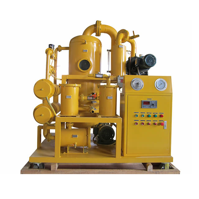 ZYD Double Stage High Vacuum Transformer Oil Purifier