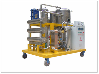 COP-S Stainless Steel Vacuum Used Cooking Oil Purification Machine